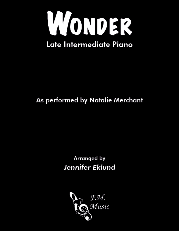 Wonder (Late Intermediate Piano)