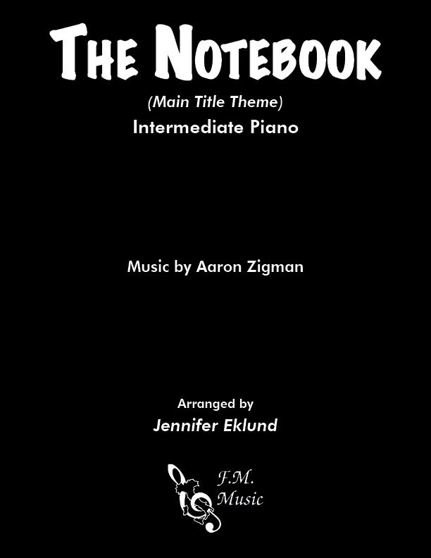 The Notebook (Main Theme) (Intermediate Piano)