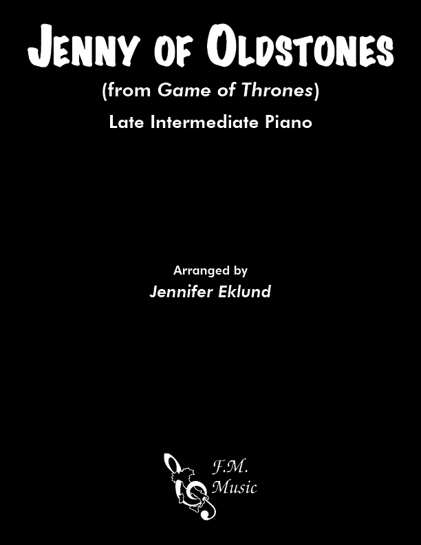 Jenny of Oldstones (Game of Thrones) (Late Intermediate Piano)