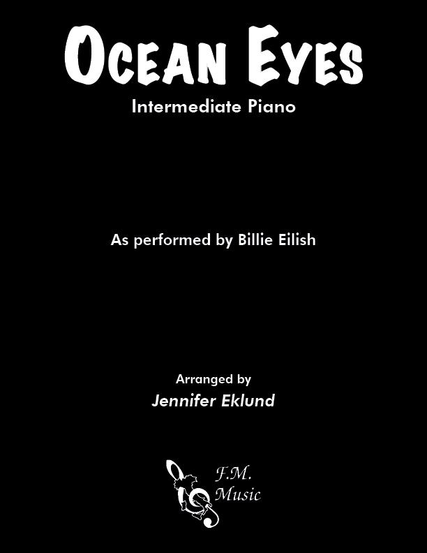 Ocean Eyes (Intermediate Piano)