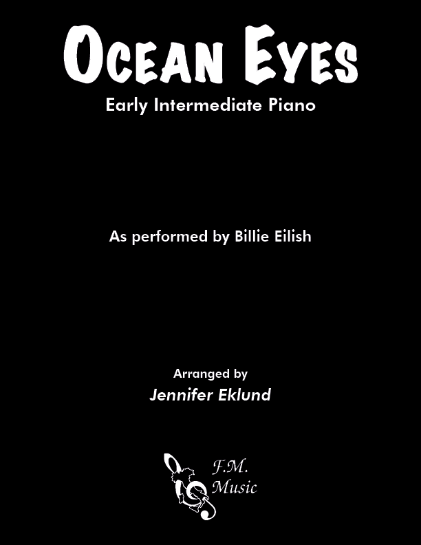 Ocean Eyes (Early Intermediate Piano)