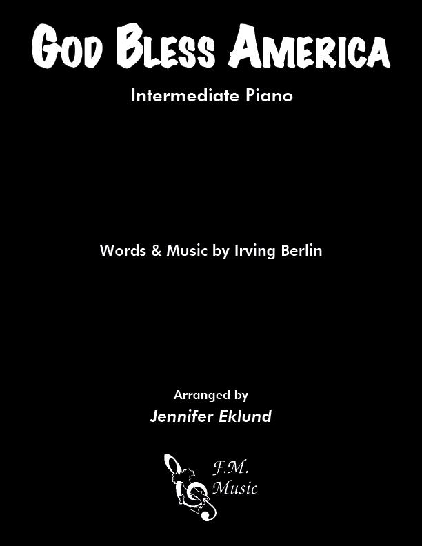 God Bless America (Intermediate Piano)