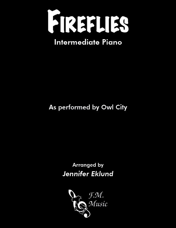 Fireflies (Intermediate Piano)