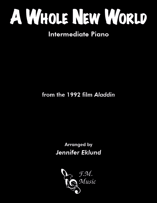 A Whole New World (from Aladdin) (Intermediate Piano)