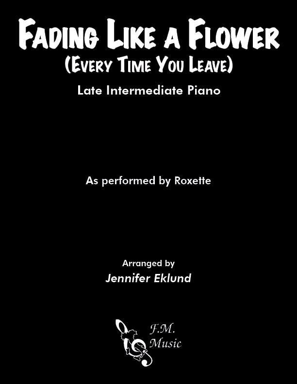 Fading Like a Flower (Late Intermediate Piano)