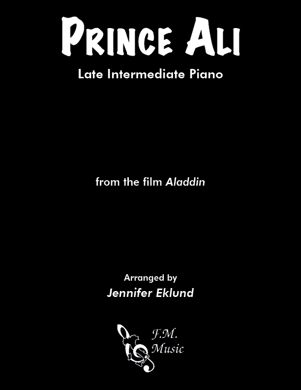 Prince Ali (from Aladdin) (Late Intermediate Piano)