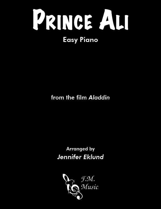 Prince Ali (from Aladdin) (Easy Piano)