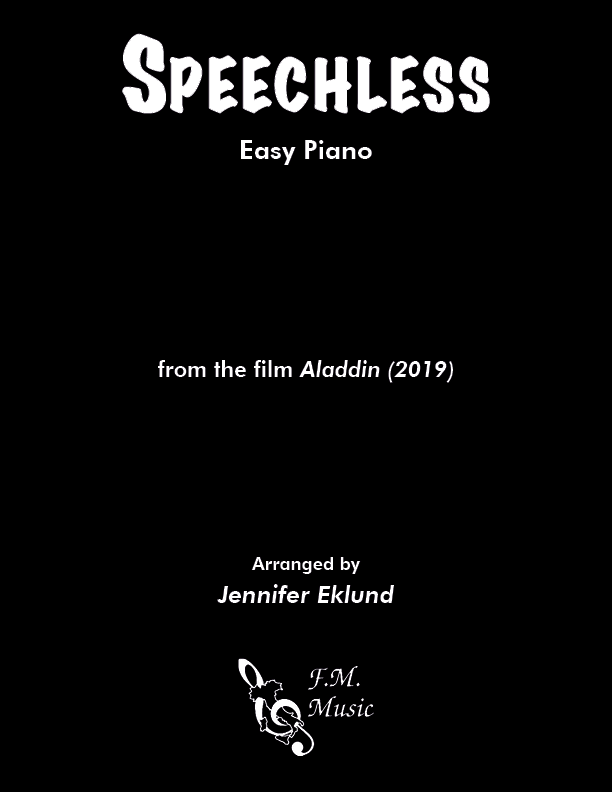 Speechless (from Aladdin 2019) (Easy Piano)