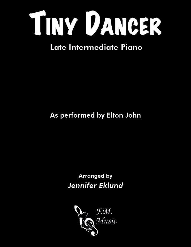 Tiny Dancer (Late Intermediate Piano)