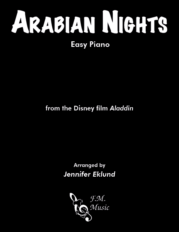 Arabian Nights (from Aladdin) (Easy Piano)