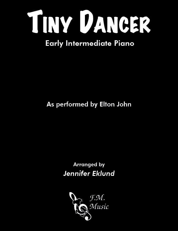 Tiny Dancer (Early Intermediate Piano)