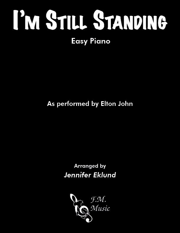I'm Still Standing (Easy Piano)