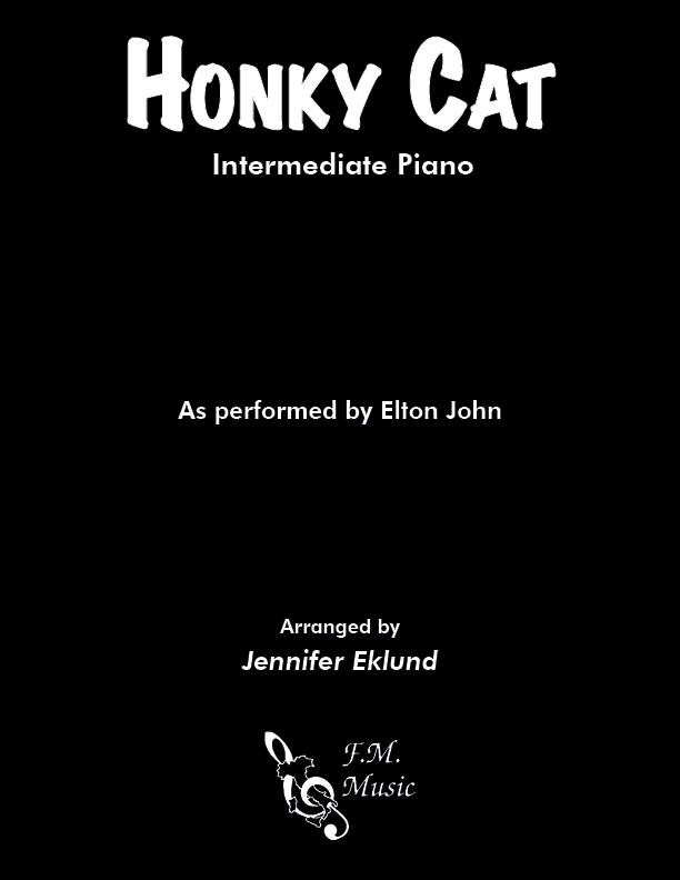 Honky Cat (Intermediate Piano)