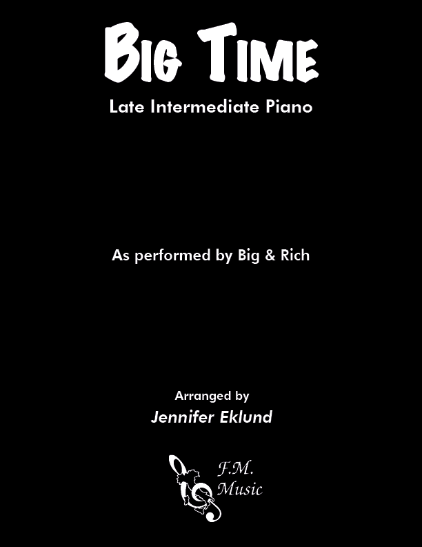 Big Time (Late Intermediate Piano)