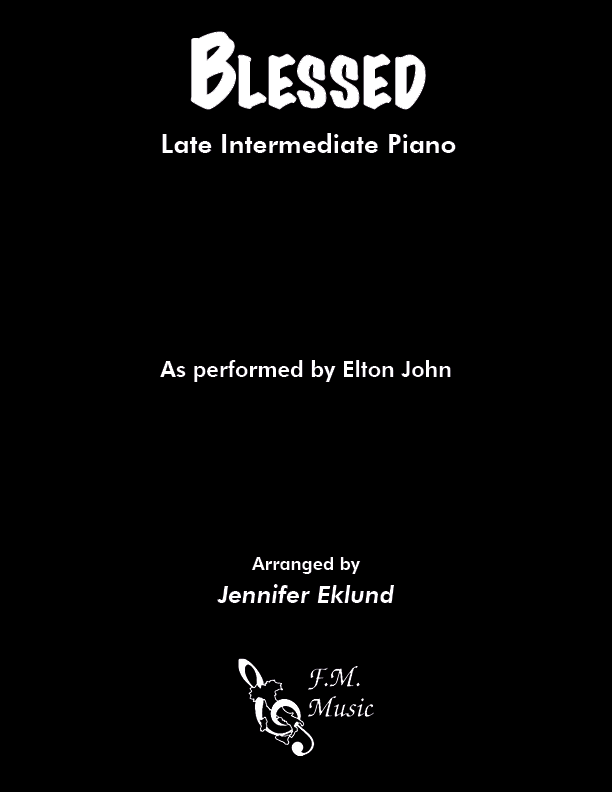 Blessed (Late Intermediate Piano)