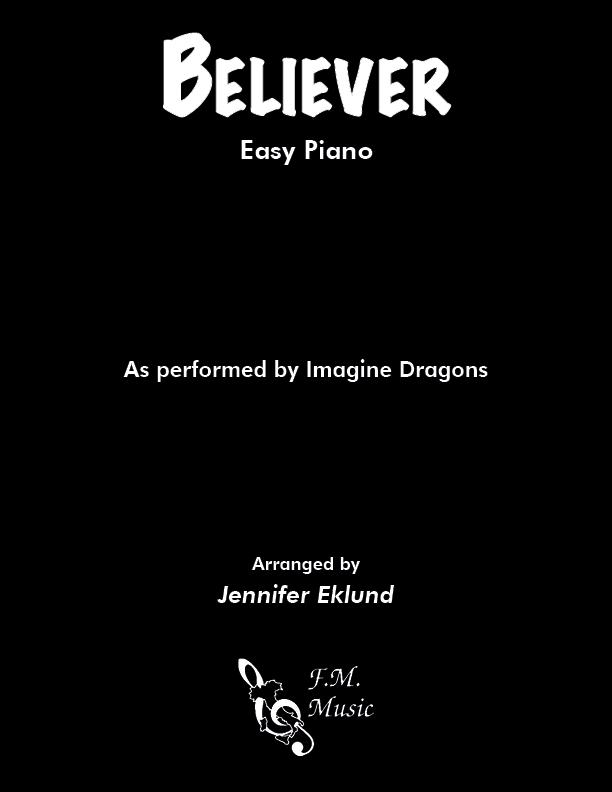 Believer (Easy Piano)