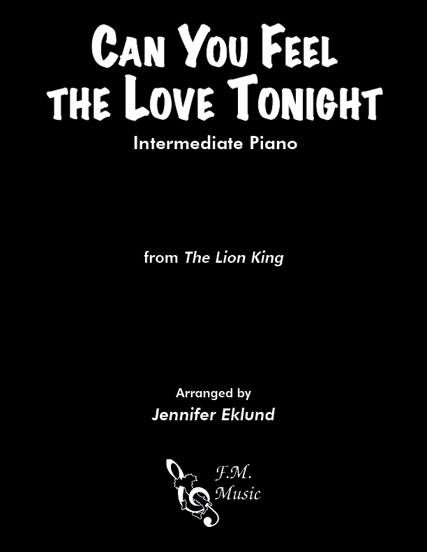 Can You Feel the Love Tonight (Intermediate Piano)