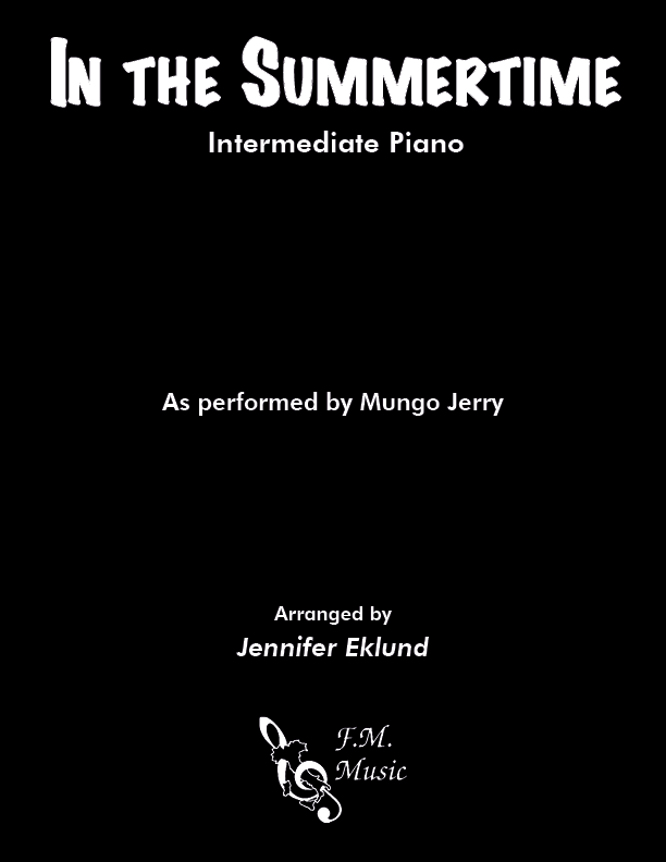 In the Summertime (Intermediate Piano)