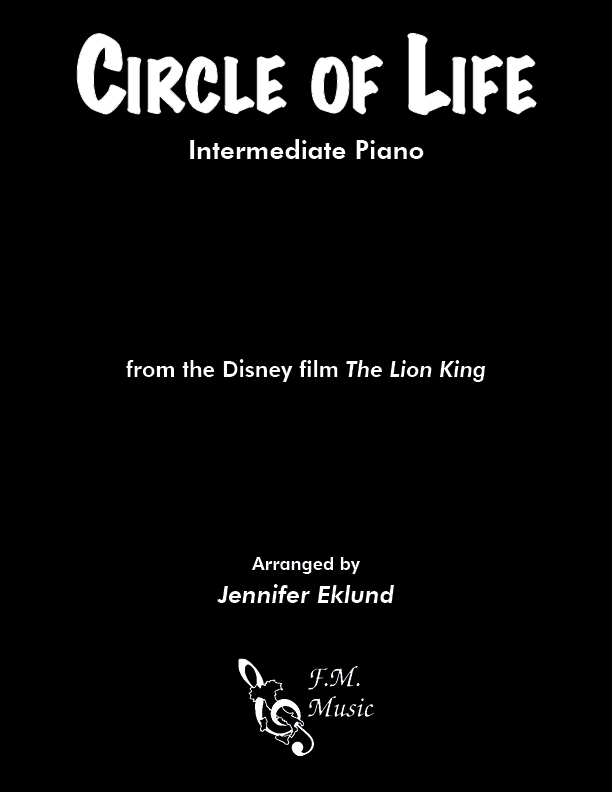 "Circle of Life (from ""The Lion King"") (Intermediate Piano)"