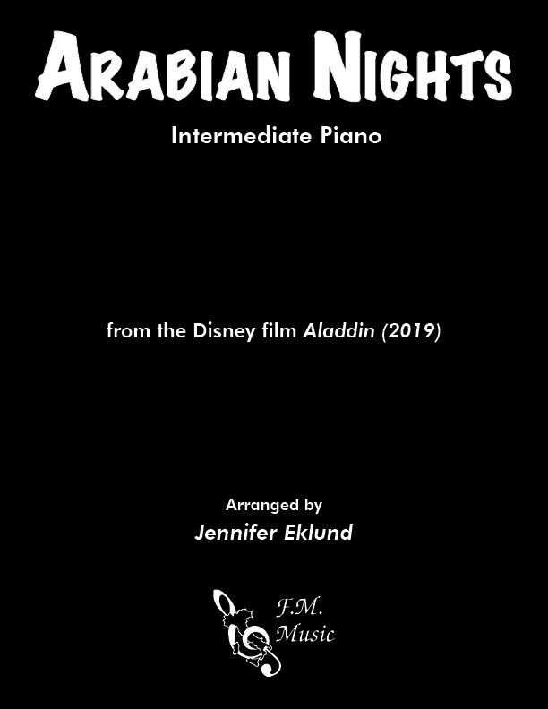 Arabian Nights (from Aladdin 2019) (Intermediate Piano)