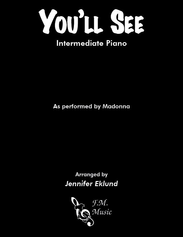 You'll See (Intermediate Piano)