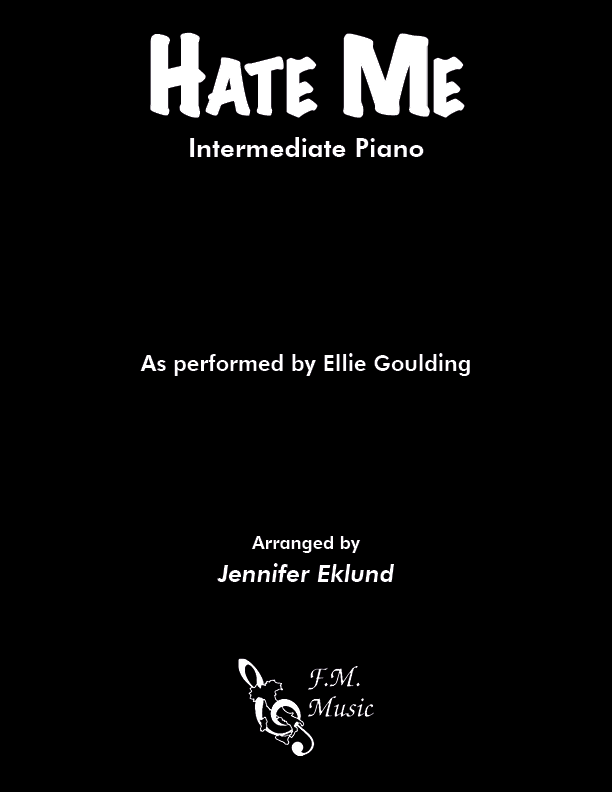 Hate Me (Intermediate Piano)