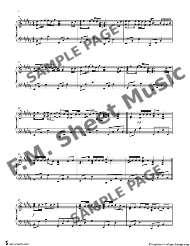 Memories Late Intermediate Piano By Maroon 5 F M Sheet Music Pop Arrangements By Jennifer Eklund