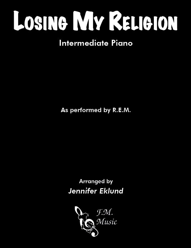 Losing My Religion (Intermediate Piano)