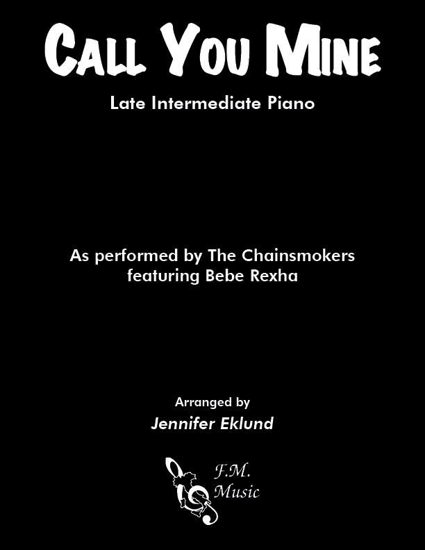 Call You Mine (Late Intermediate Piano)