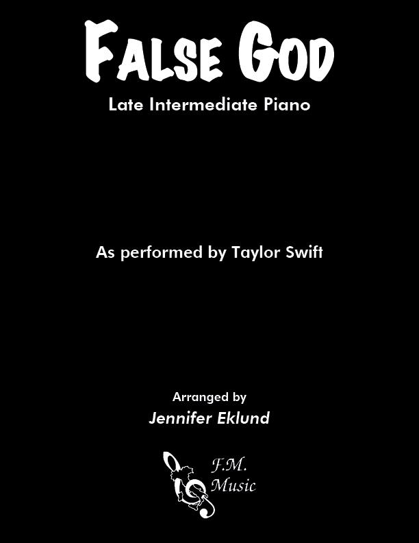 False God (Late Intermediate Piano)