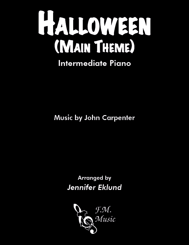Halloween (Main Theme) (Intermediate Piano)