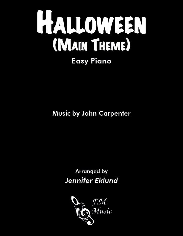 Halloween (Main Theme) (Easy Piano)