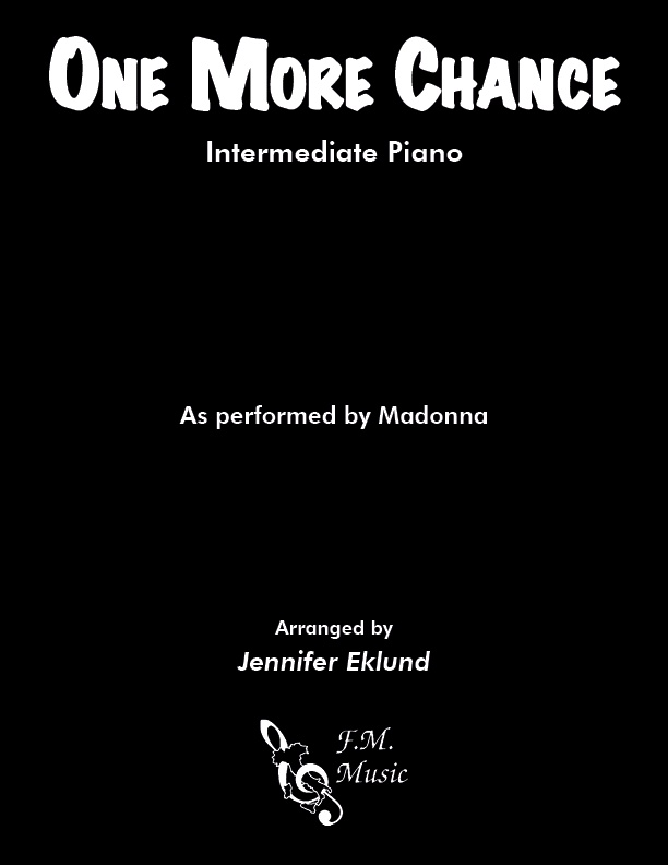 One More Chance (Intermediate Piano)