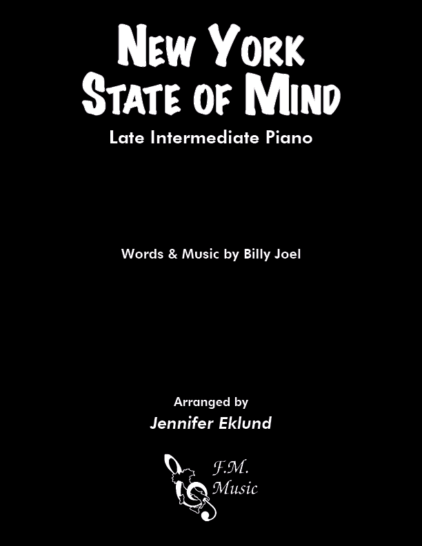 New York State of Mind (Late Intermediate Piano)