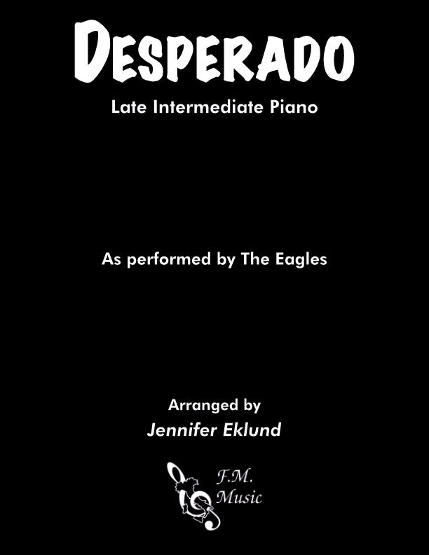Desperado (Late Intermediate Piano)