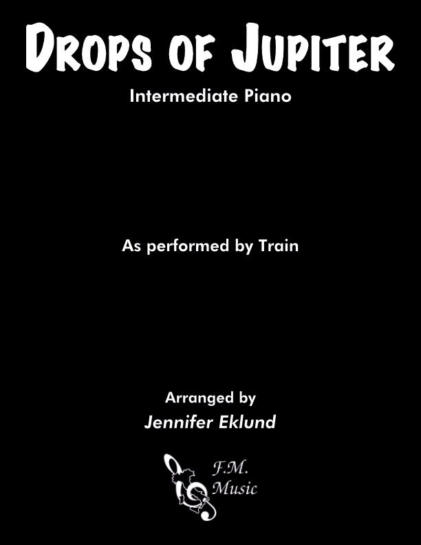 Drops of Jupiter (Intermediate Piano)