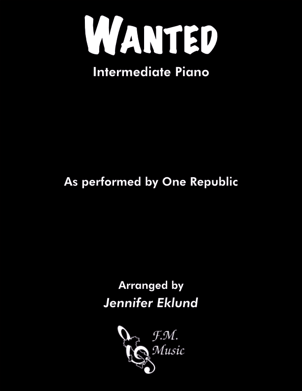 Wanted (Intermediate Piano)