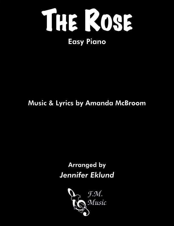 The Rose (Easy Piano)