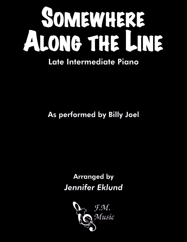 Somewhere Along the Line (Late Intermediate Piano)