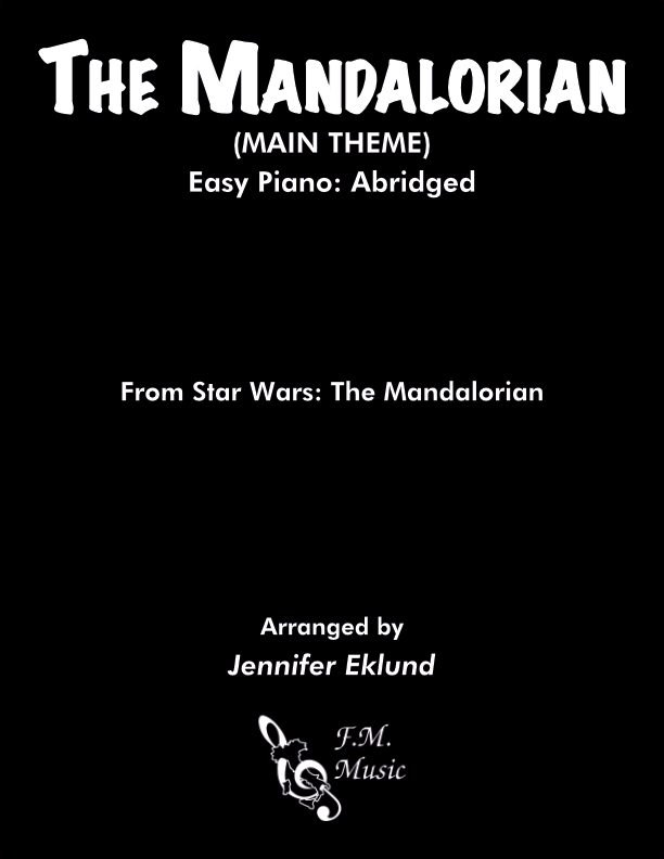 The Mandalorian (Easy Piano: Abridged)