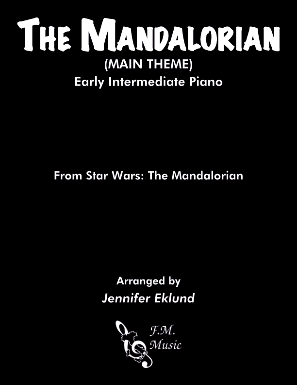 The Mandalorian (Early Intermediate Piano)