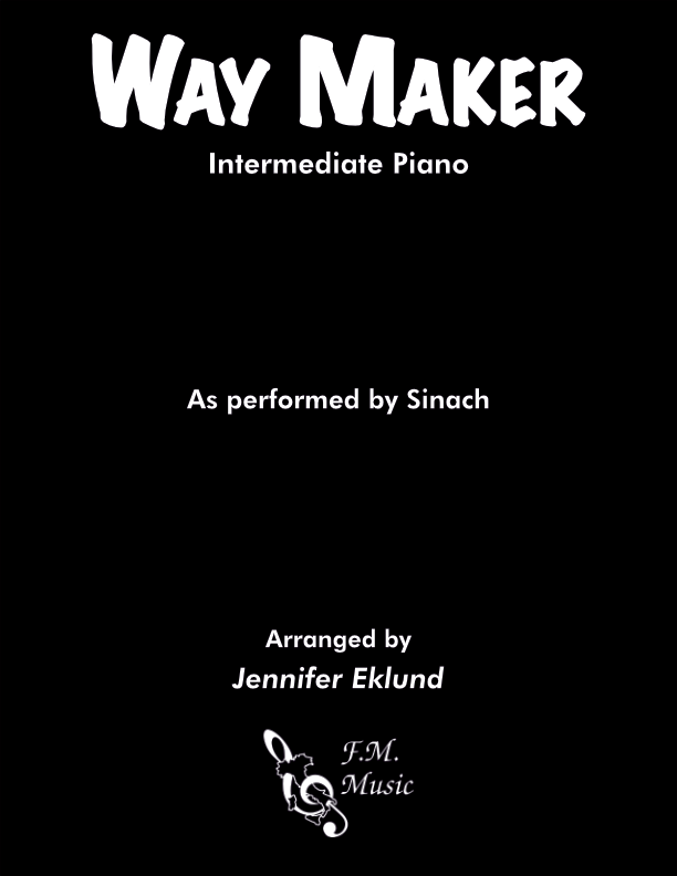 Way Maker (Intermediate Piano)