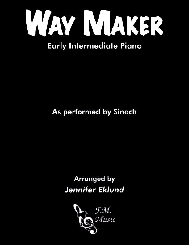 Way Maker (Early Intermediate Piano)