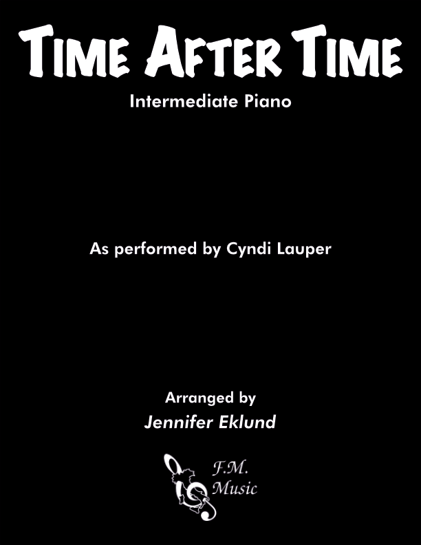 Time After Time (Intermediate Piano)