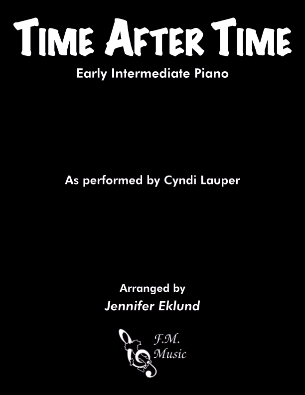 Time After Time (Early Intermediate Piano)