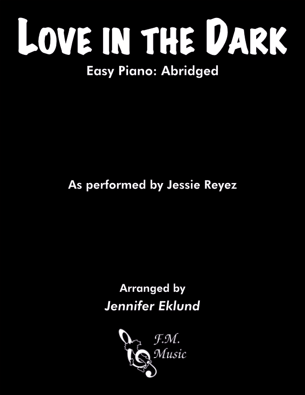 Love in the Dark (Easy Piano)