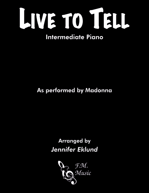 Live to Tell (Intermediate Piano)