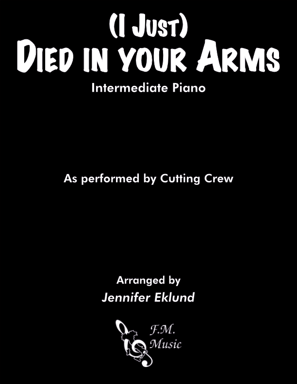 (I Just) Died In Your Arms (Intermediate Piano)