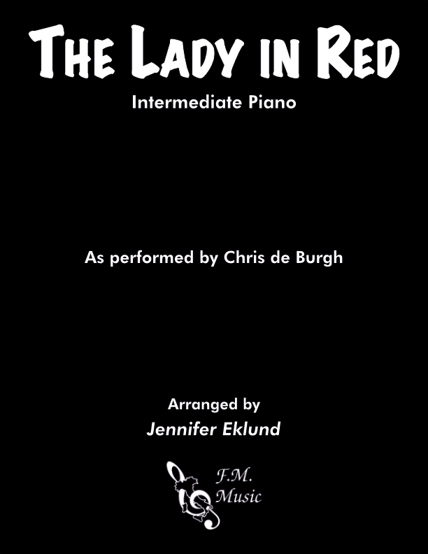 The Lady in Red (Intermediate Piano)