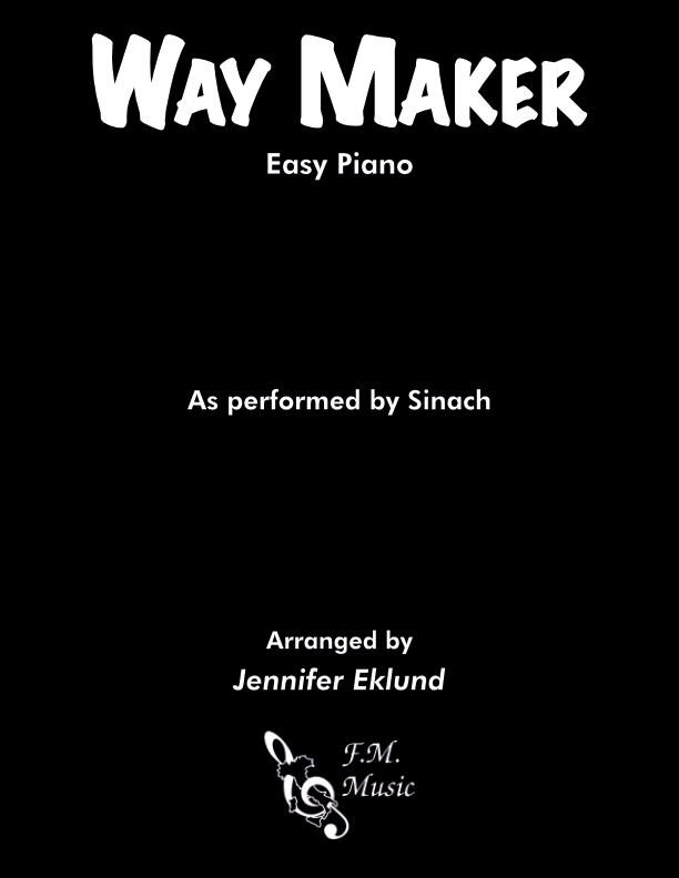 Way Maker (Easy Piano)